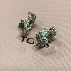 ❤️❤️ SOLD ❤️❤️ Tous Puppies Silver Earrings